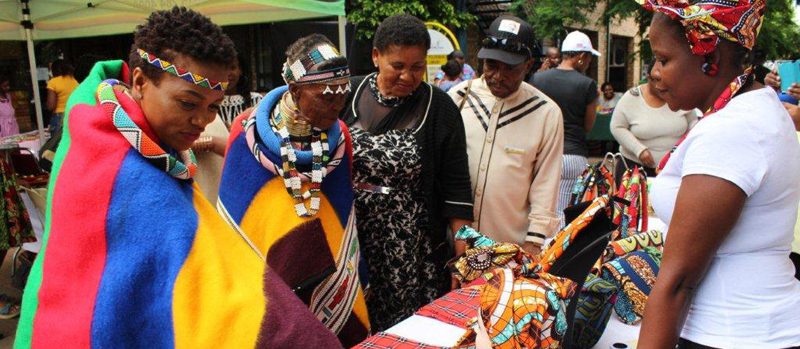 Mapungubwe Arts and Craft Flea Market at Library Gardens underway