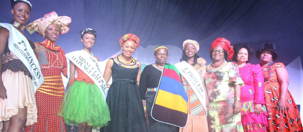Miss. Cultural Mapungubwe crowned during the Cultural Pegeant, Arts Awards and Fashion Show held in Tzaneen