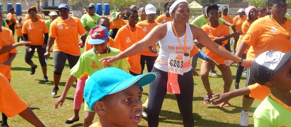 Provincial Big Walk held at Polokwane Rugby Fields,