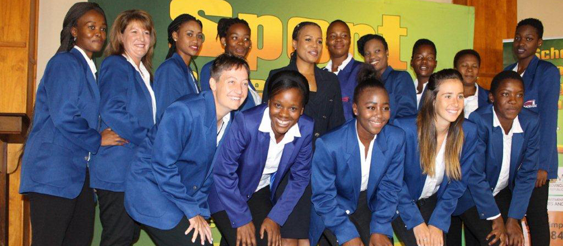 The launch of Limpopo Provincial Netball Team 'Baobabs'